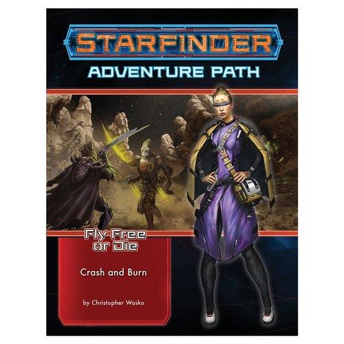 Paizo Publishing STARFINDER: ADVENTURE PATH: FLY FREE OR DIE 5 - CRASH & BURN