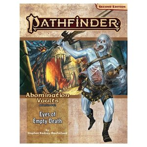 Paizo Publishing PATHFINDER 2ND EDITION: ADVENTURE PATH: ABOMINATION VAULTS 3 -EYES OF EMPTY DEATH