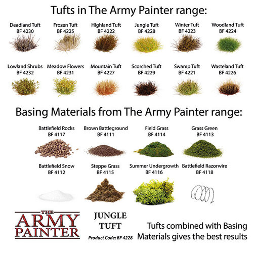 The Army Painter BATTLEFIELDS: JUNGLE TUFT