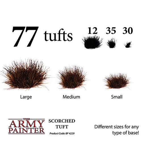 The Army Painter BATTLEFIELDS: SCORCHED TUFT