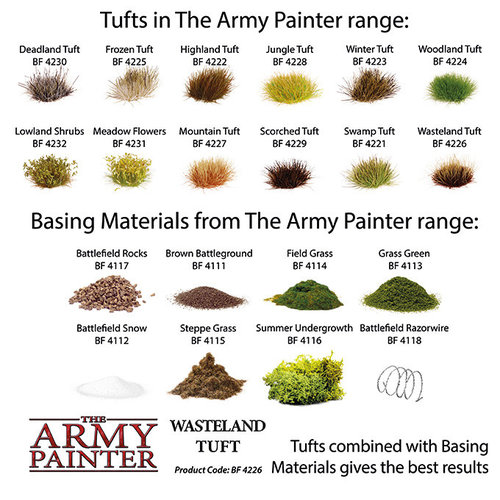 The Army Painter BATTLEFIELDS: WASTELAND TUFT