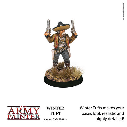 The Army Painter BATTLEFIELDS: WINTER TUFT
