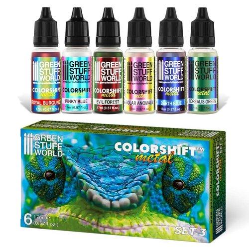 Green Stuff World COLORSHIFT: PAINT SET 3