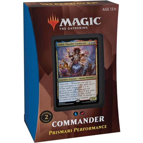 Wizards of the Coast MTG: STRIXHAVEN - PRISMARI PERFORMANCE COMMANDER DECK