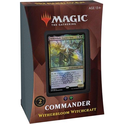 Wizards of the Coast MTG: STRIXHAVEN - WITHERBLOOM WITCHCRAFT COMMANDER DECK