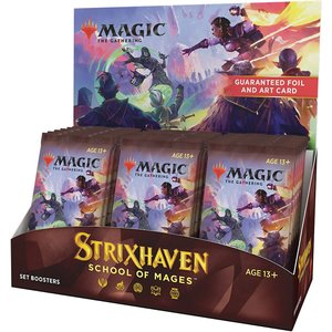 Wizards of the Coast MTG: STRIXHAVEN - SET BOOSTER BOX