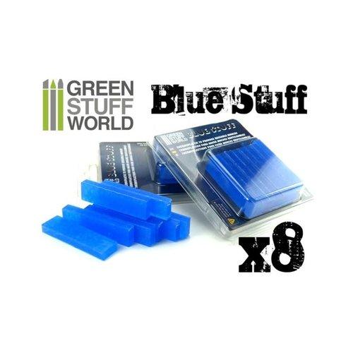 Green Stuff World BLUE STUFF MOLD (8 BARS)
