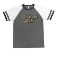 T-SHIRT CRITICAL ROLE RETRO RINGER