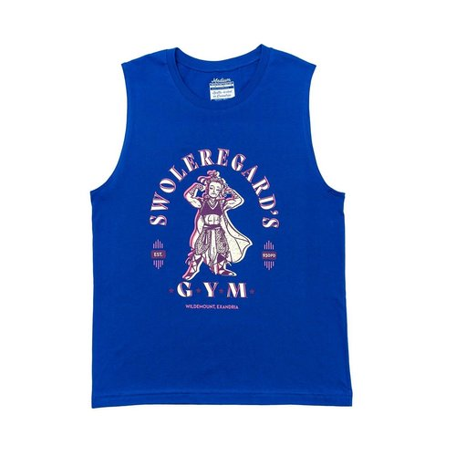 Darrington Press / Critical Role TANK TOP SHIRT SWOLEREGARD'S GYM