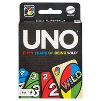 UNO CARD GAME - 50TH ANNIVERSARY EDITION