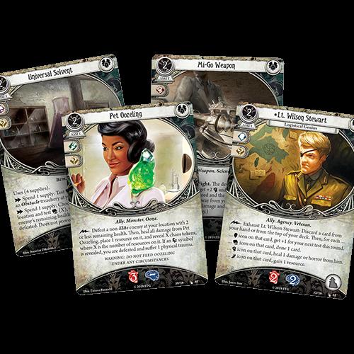 Fantasy Flight Games ARKHAM HORROR LCG: THE BLOB THAT ATE EVERYTHING MYTHOS PACK