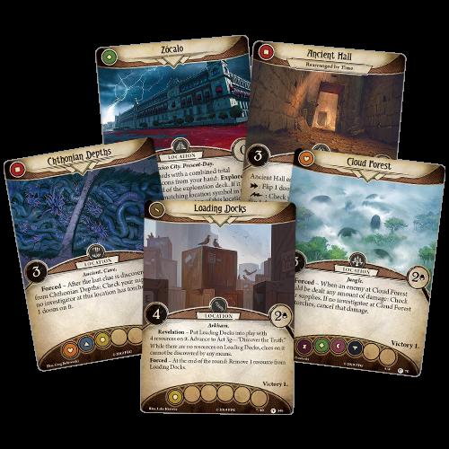Fantasy Flight Games ARKHAM HORROR LCG: RETURN TO THE FORGOTTEN AGE MYTHOS PACK