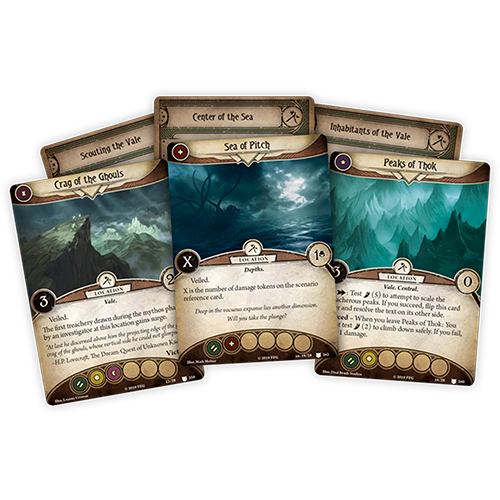 Fantasy Flight Games ARKHAM HORROR LCG: POINT OF NO RETURN MYTHOS PACK
