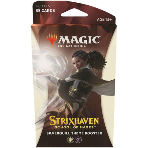 Wizards of the Coast MTG: STRIXHAVEN - SILVERQUILL THEME BOOSTER