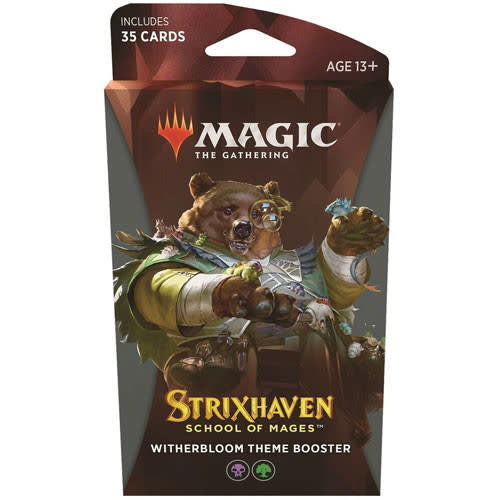 Wizards of the Coast MTG: STRIXHAVEN - WITHERBLOOM THEME BOOSTER