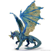 MINIS: D&D: ICONS OF THE REALMS: ADULT BLUE DRAGON - PREMIUM FIGURE