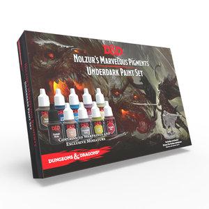 The Army Painter D&D: NOLZUR'S MARVELOUS PIGMENTS - UNDERDARK PAINT SET