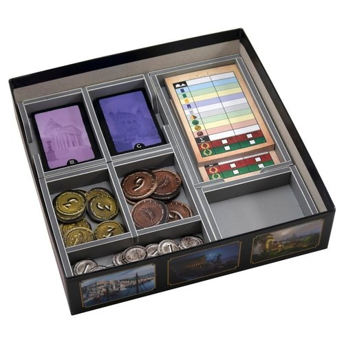 Folded Space BOX INSERT: 7 WONDERS DUEL & EXPANSION