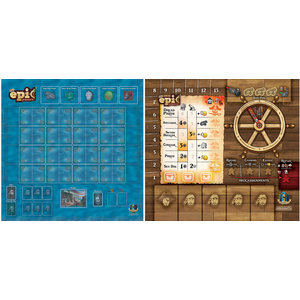 Gamelyn Games TINY EPIC PIRATES - PLAYER MAT SETS