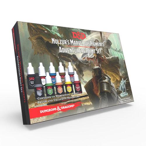 The Army Painter D&D: NOLZUR'S MARVELOUS PIGMENTS - ADVENTURERS PAINT SET