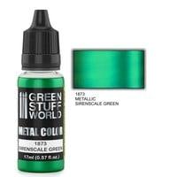 METAL COLOR: SIRENSCALE GREEN