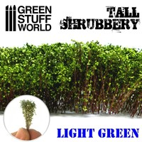 TALL SHRUBBERY TERRAIN - LIGHT GREEN