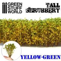 TALL SHRUBBERY - YELLOW GREEN