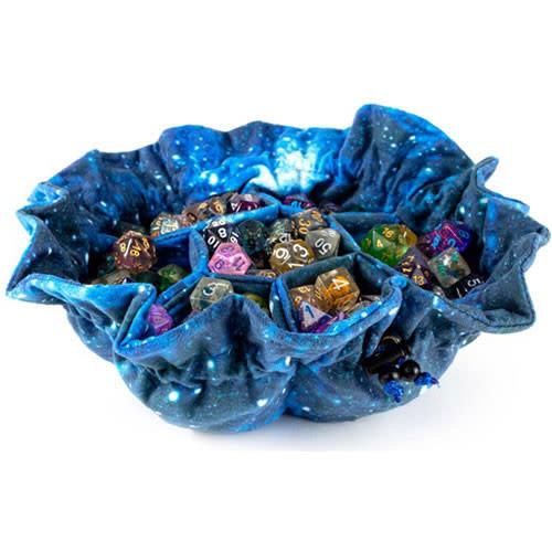 Metallic Dice Company DICE BAG: GALAXY (POCKETS)