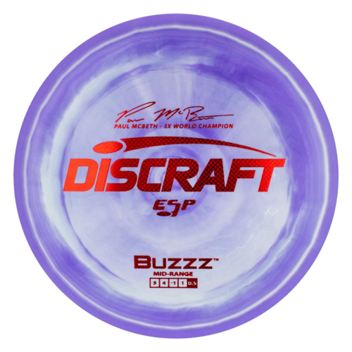 Discraft BUZZZ ESP PAUL MCBETH 177g+ Midrange