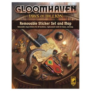 Cephalofair GLOOMHAVEN: REMOVABLE STICKER SET: JAWS OF THE LION