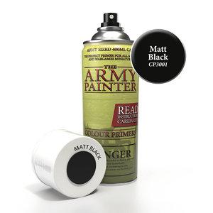 The Army Painter COLOR PRIMER: MATTE BLACK