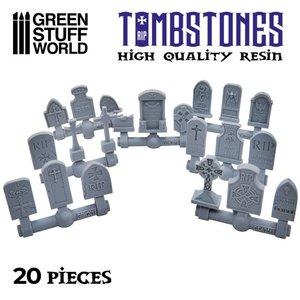 Green Stuff World CONVERSION BITS: GRAVESTONES (20)