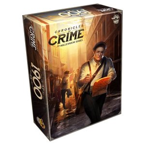 Lucky Duck Games CHRONICLES OF CRIME: THE MILLENNIUM SERIES: 1900
