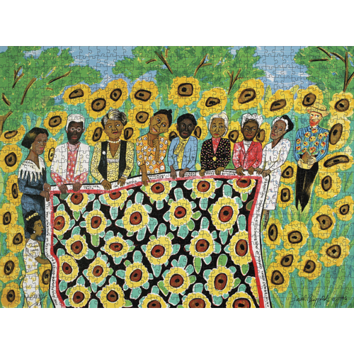 POMEGRANATE PM1000 FAITH RINGGOLD - SUNFLOWER QUILTING BEE AT ARLES