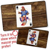 PLAYMAT: GoB - MASCOTS PLAYING CARD