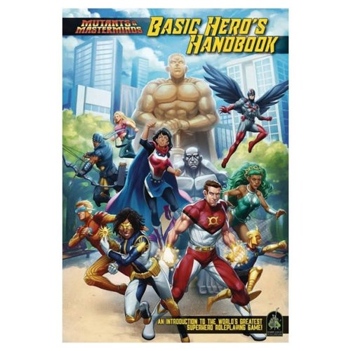 Green Ronin Publishing MUTANTS & MASTERMINDS: BASIC HERO'S HANDBOOK