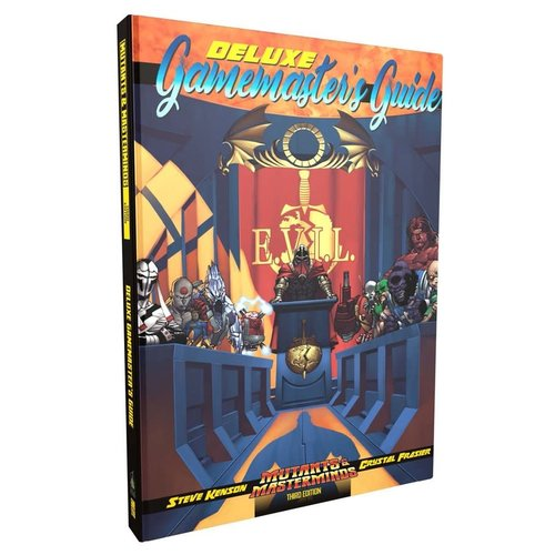 Green Ronin Publishing MUTANTS & MASTERMINDS: DELUXE GAMEMASTER'S GUIDE