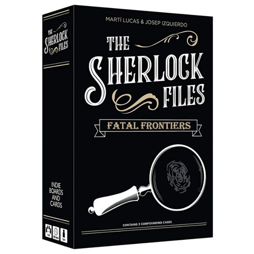 Indie Boards & Cards SHERLOCK FILES: FATAL FRONTIERS