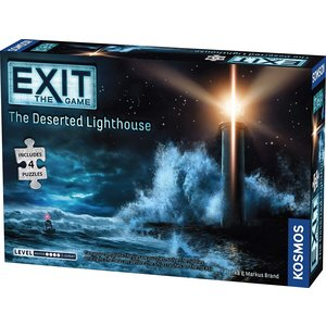 Thames & Kosmos EXIT: THE DESERTED LIGHTHOUSE + PUZZLE