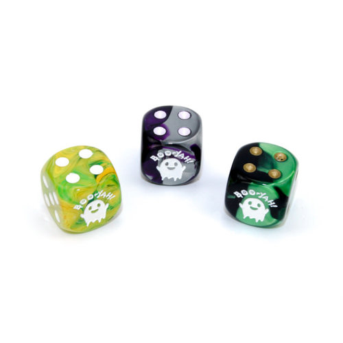 Chessex CUSTOM D6 16mm BOO YAH (Assorted Colors)