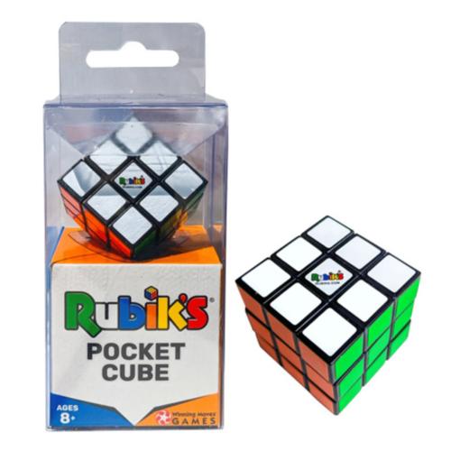 WINNING MOVES RUBIK'S POCKET CUBE 3x3x3