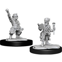 MINIS: D&D: GNOME MALE ARTIFICER (STAFF)