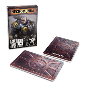 Games Workshop NECROMUNDA: ENFORCER TACTICS CARD PACK