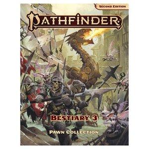 Paizo Publishing PATHFINDER 2ND EDITION: PAWNS - BESTIARY 3 BOX