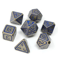 METAL DICE SET 7 UNEARTHED LEVIATHAN