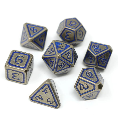 Die Hard Dice METAL DICE SET 7 UNEARTHED LEVIATHAN