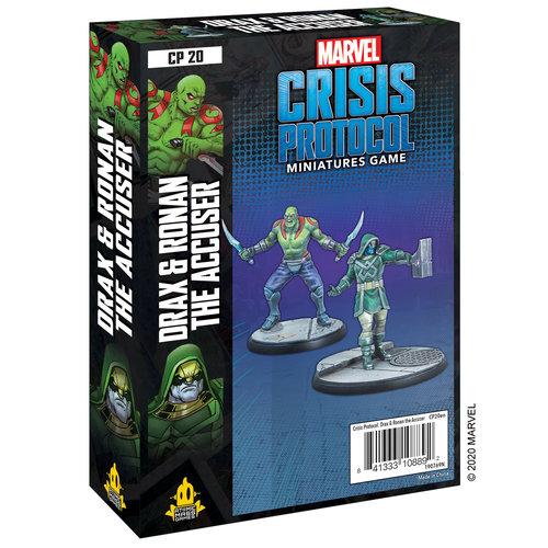 Atomic Mass Games MARVEL CRISIS PROTOCOL: DRAX & RONAN THE ACCUSER