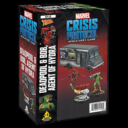 Atomic Mass Games MARVEL CRISIS PROTOCOL: DEADPOOL & BOB