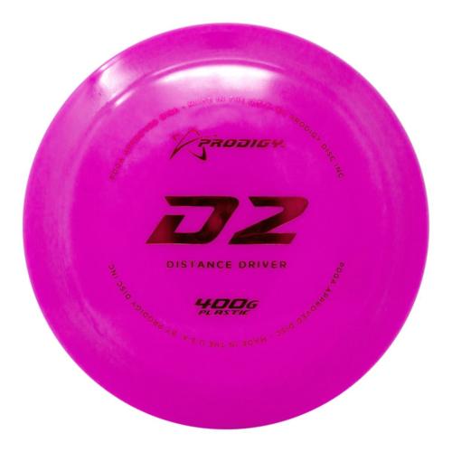 Prodigy Disc D2 400G 170g-174g Distance Driver