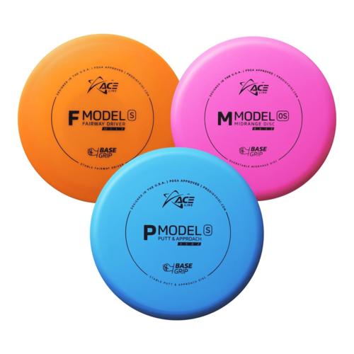 Prodigy Disc ACE LINE 3 PACK STARTER SET 150g-159g